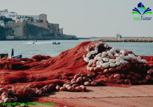 fishing nets used in fishing vessel